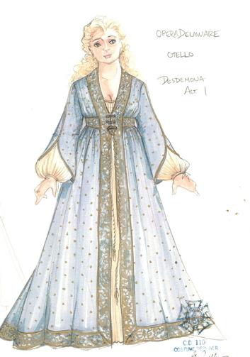 Emilia othello costume